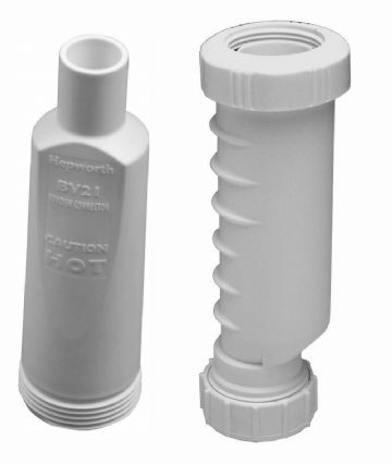 "Wavin Osma HepVO 32mm (1 1/4"") waste trap and tundish adaptor kit BV1/21"